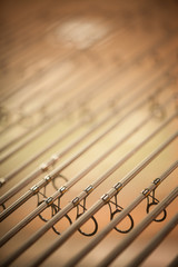 Fishing rods detail