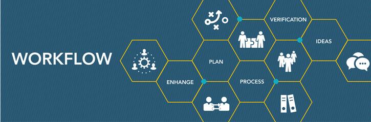 Workflow Icon Concept