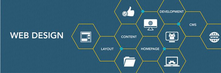 Web Desıgn Icon Concept