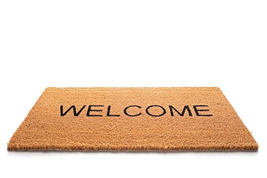 Welcome doormat