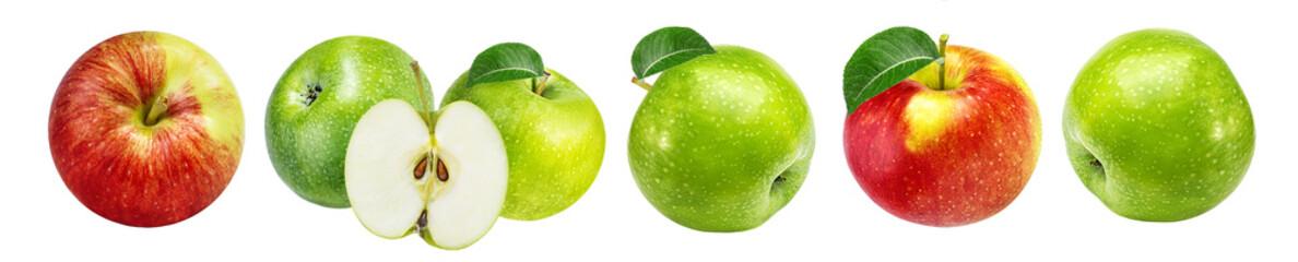 Fototapete - apple isolated on white