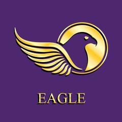 winged_eagle_bird_gold_logo
