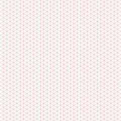 Isometric Grid Background in Vector