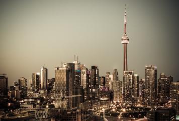 Toronto Downtown at Night