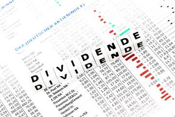 auszahlung dividende
