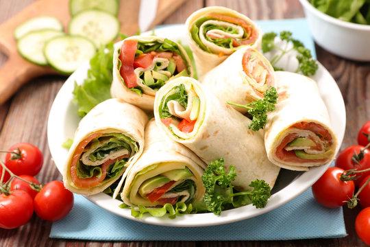 sandwich wrap