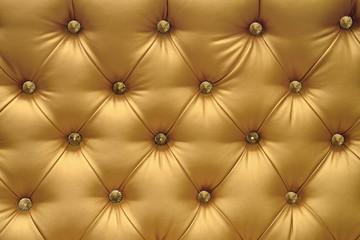 Golden leather background, vintage texture.