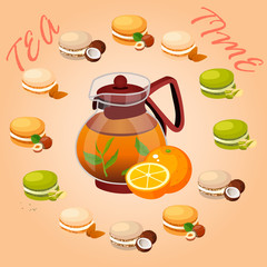 illustration of teapot