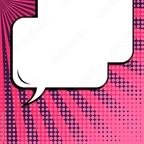 abstract creative concept vector comic pop art style blank layout