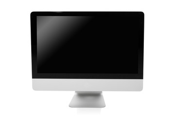 professional desktop pc isolated