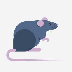 Rat day illustration