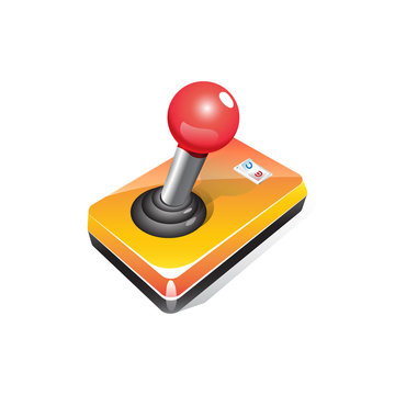 Custom Oldschool JoyStick with Power Switch