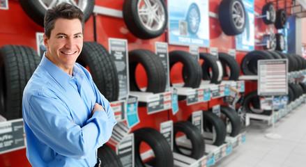 Car dealer man