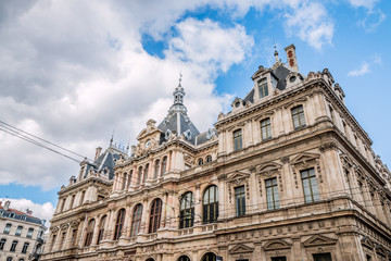 Le Palais de la Bourse de Lyon
