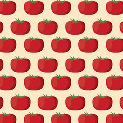 tomato nutrition seamless pattern image vector illustration eps 10