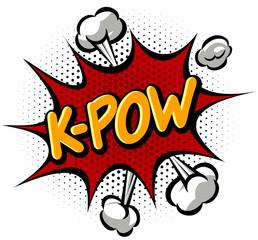 K-Pow Effect Comics Book