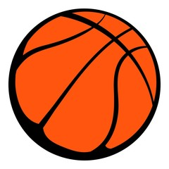 Basketball ball  icon, icon cartoon