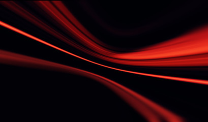 Red and black blur line background/Abstract Red and black background with blur effect