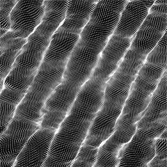 Wave pattern. Abstract vector background. Texture for your design.
