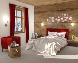 Schlafzimmer Boxspringbett Doppelbett