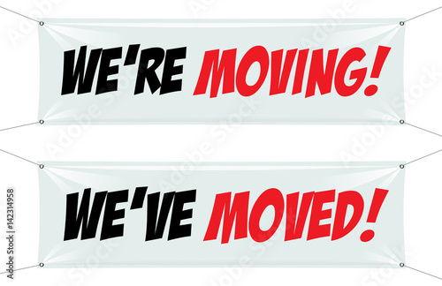 We Re Moving Ve Moved