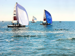 Competitions in Sochi on the Black Sea by water sports