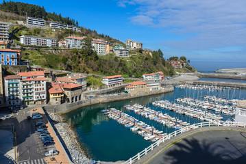 Town of Mutriku, Basque Country, Spain