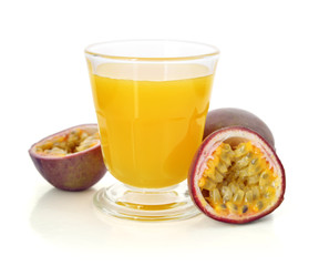 Wall Mural - Passion fruit with fresh juice