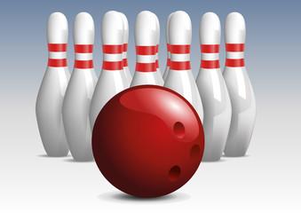 Bowling - Quilles - réussite - succès - challenge