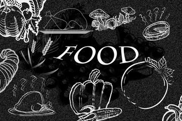 Food, Essen, Gemüse, Pilze, Speisen