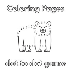 Cartoon Bear Coloring Book