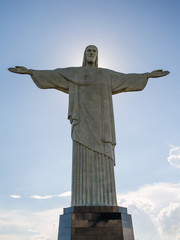 Cristo Redentor in Rio de Janeiro, Brasilien