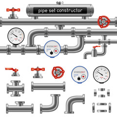 black pipe set constructor