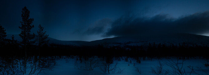 Morning in Russian Lapland, Kola Peninsula
