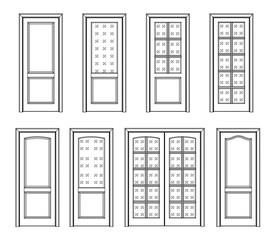 set door interior