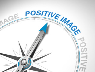 positive image / compass