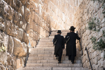 Two Jews in Jerusalem