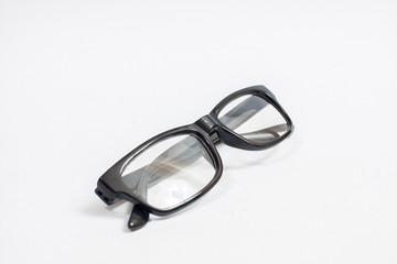 Eyeglasses isolated on white.