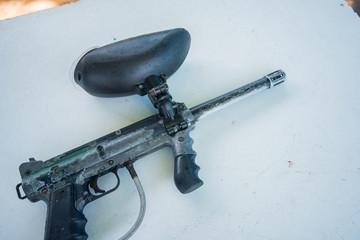 paintball gun, paintball equipment