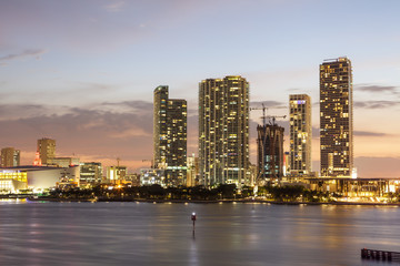 Wall Mural - Miami downtown skyline