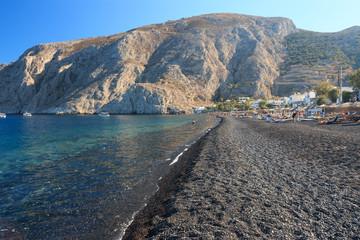 spiaggia di Kamari - Santorini