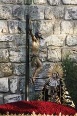 Hermandad de Santa cruz en la semana santa de Sevilla