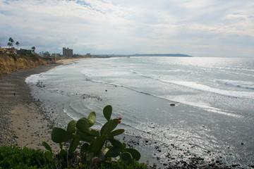 La jolla beach view. San Diego. California. Pacific ocean