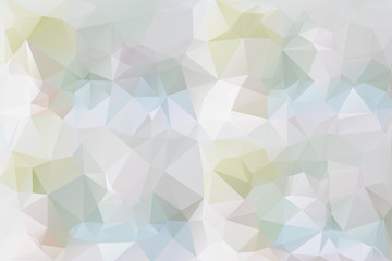 Pastel colors low poly background