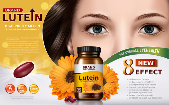 high purity lutein ad