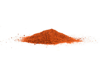 Pile of sweet Hungarian ground paprika