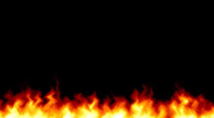 炎 燃えるイメージイラスト