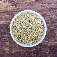 fennel in a bowl