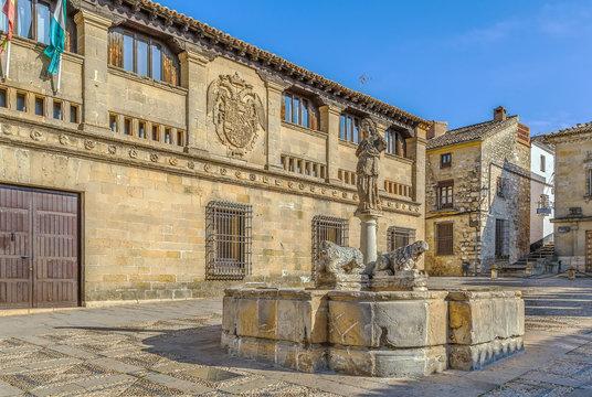 Fountain of the Lions, Baeza
