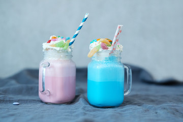 Acrylic Prints Milkshake Milkshakes